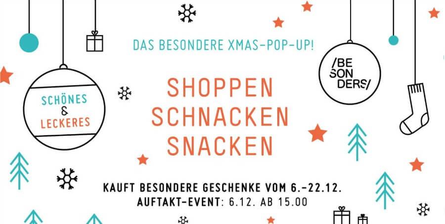 Pop-up design kerstmarkt in Hamburg: Besonders Hamburg