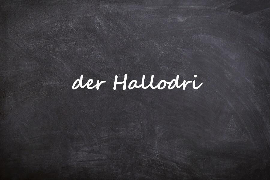 Mooiste Duitse woorden van dit jaar: Hallodri