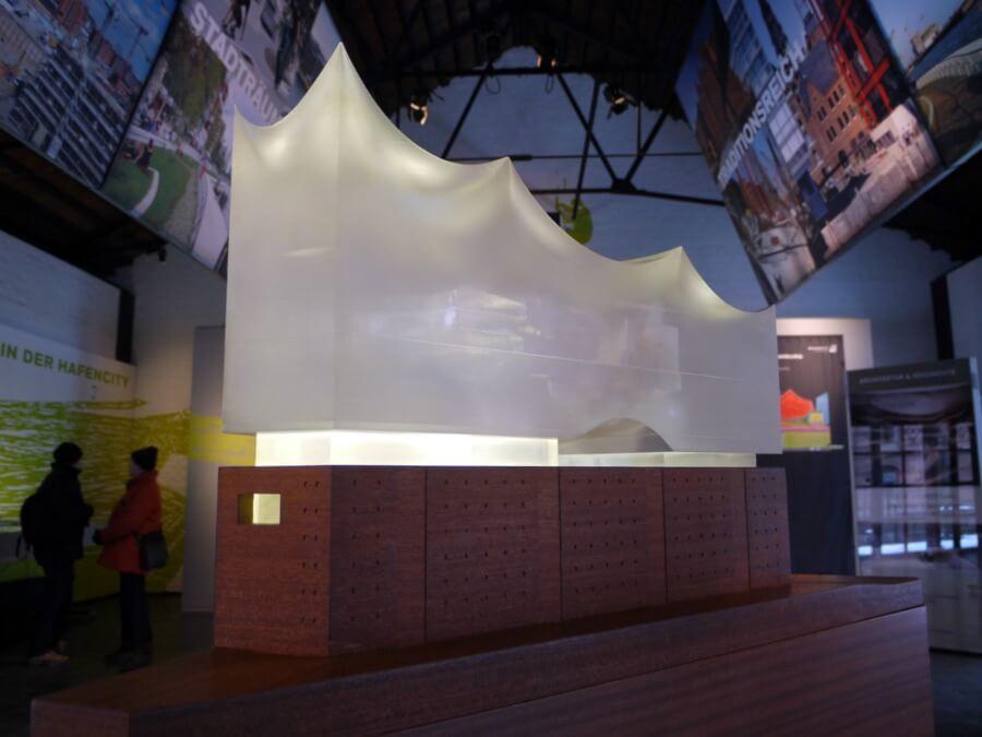 Model van de Elbphilharmonie, foto Missy Wegner CCBY3.0
