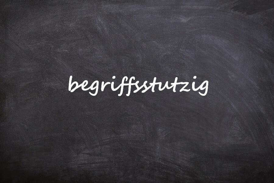 Mooiste Duitse woorden van dit jaar: begriffsstutzig