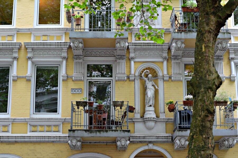 Historische gebouwen in Hamburg: Eimsbütteler Altbau