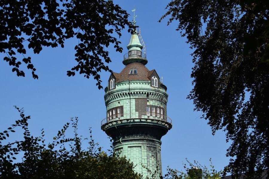 Watertorens in Hamburg: Lokstedt