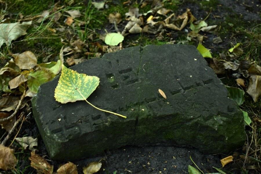Grafsteen op het Jüdischer Friedhof