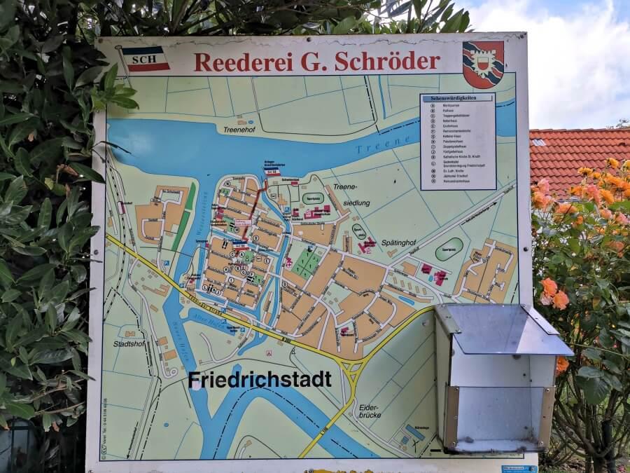Plattegrond Friedrichstadt