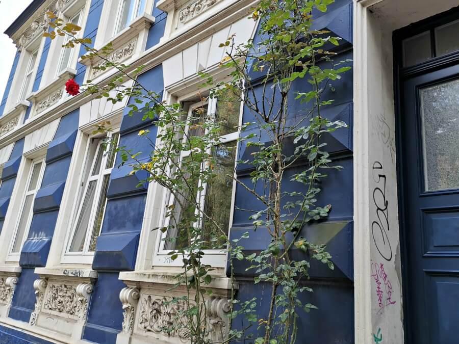Herfstplaatjes in Hamburg: architectuur