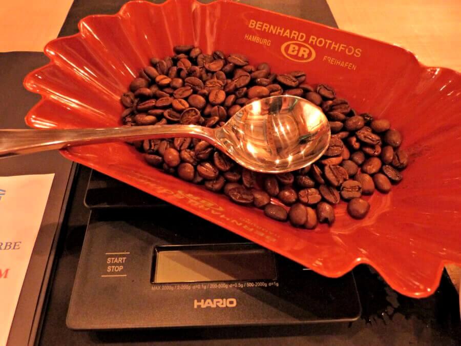 Herfsttip Hamburg: zelf koffie samenstellen in het koffiemuseum