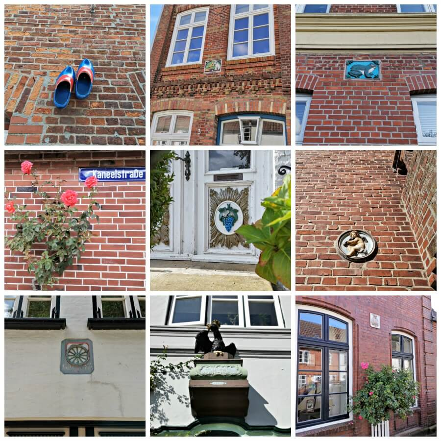 Hausmarken in Friedrichstadt