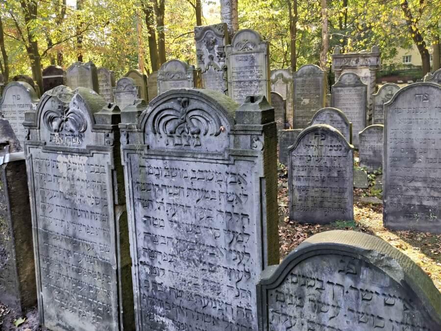 Herfst op de Joodse begraafplaats van Altona