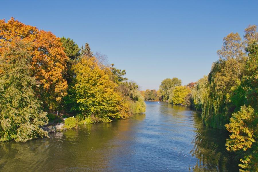 Herfstkleuren in Hamburg: fotograferen aan de Alster