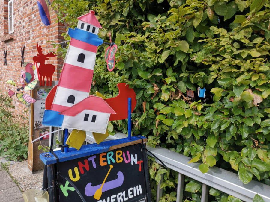 Kanoverhuur Friedrichstadt: Kunterbunt