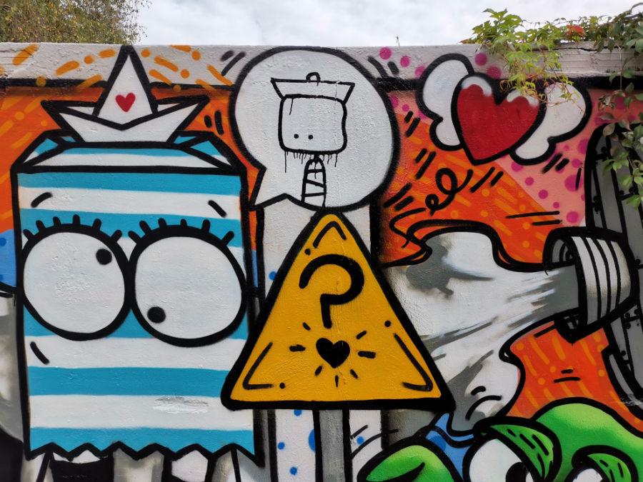 Street art in Hamburg Altona: Warnholtzstraße