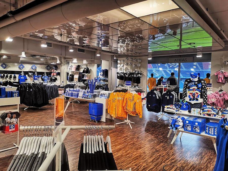 HSV shop in HSV stadion | Standort Hamburg