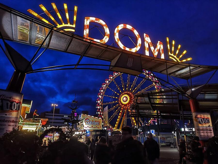 Hamburg in december, dat betekent natuurlijk kerstmarkten bezoeken