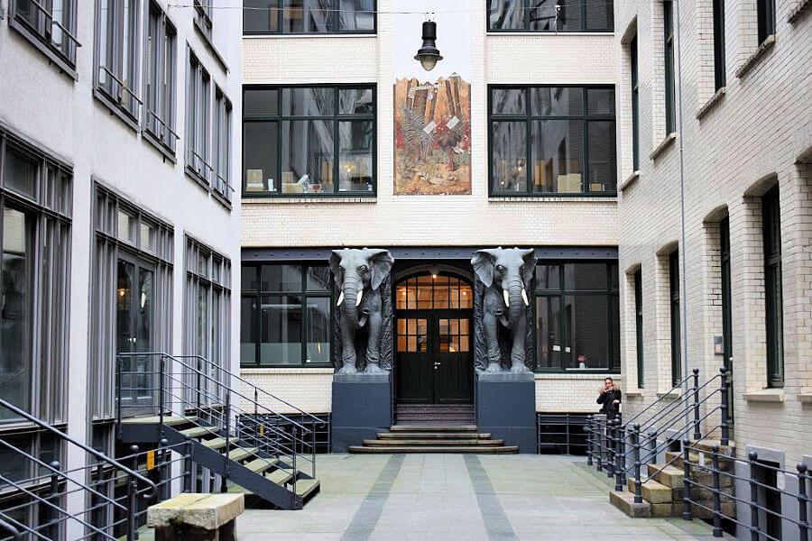Architectuur in Hamburg: Afrikahaus