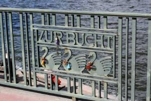 Hamburg in juni: fietsen om de Alster