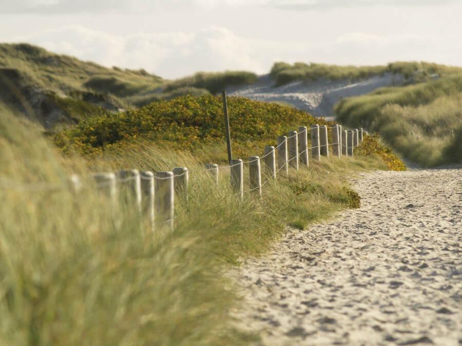 Zomervakantie op Sylt: eindeloos wandelen door de duinen