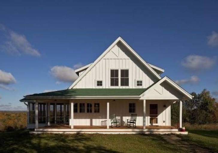 Farmhouse Plans With Porches With Tin Roof