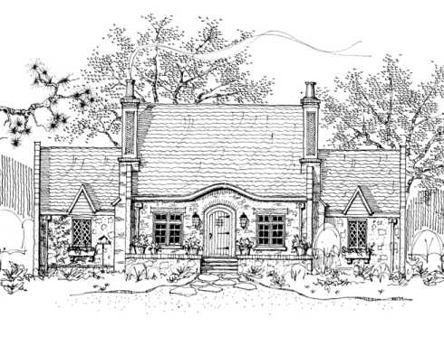 Storybook Cottage House Plans Hobbit Huts To Cottage Castles!
