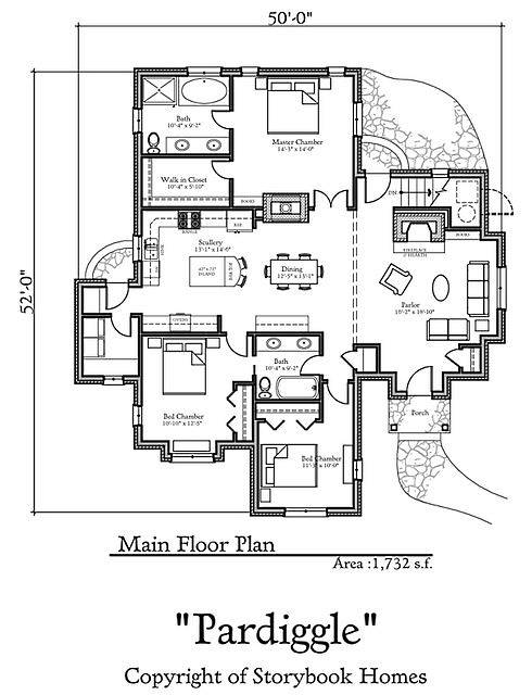 Storybook Home Plans...Old World Styling for Modern