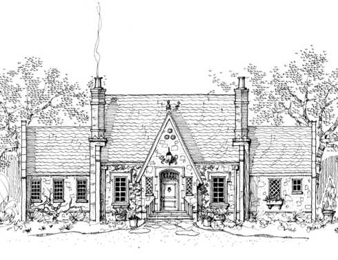 Storybook House Plans Cozy Country Cottages!