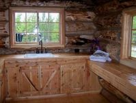 Log Cabin Style Mobile Homes . . . Well-Rounded Walls On ...