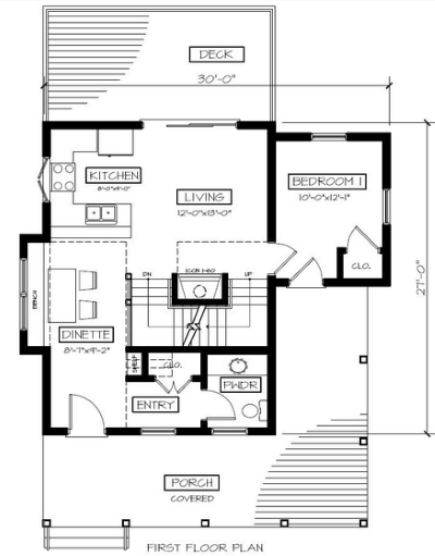 Small Cottage House Plans...Farm Style Features!
