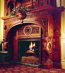 Antique Fireplace Mantels    Old Flames Never Die