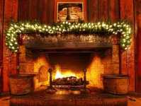 Christmas Fireplace Pictures . . . Spruce Up Your Stone ...