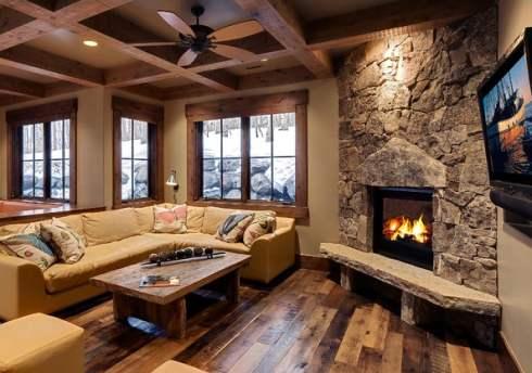 Stone Corner Fireplaces    Cornerstones Of A Room