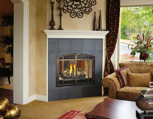 The Corner Gas Fireplace    A Great Way To Maximize Your Space