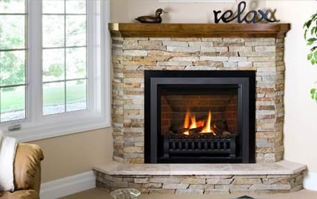 title | Small Corner Gas Fireplace