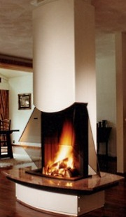Free Standing Fireplace Designs That Truly Stand Out
