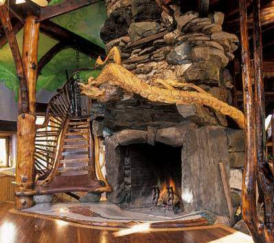 The Hobbit FireplaceA Perfect Place to Settle IN with J