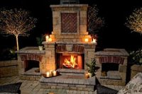 Outdoor Wood Burning Fireplaces . . . Fond Memories Of ...