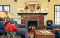 The Spanish Style Fireplace . . . A Rich & Colorful Heritage!