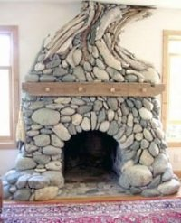 Stone Fireplace Picture Gallery...Unique Designs To Rock ...