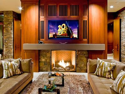 TV Over Fireplace Ideas An Overview Of Options!