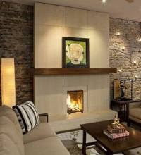 Standout Stone Contemporary Fireplace Designs!
