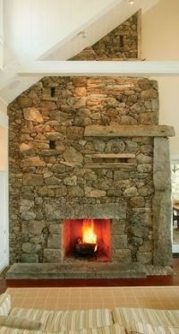 The Masonry Fireplace . . . Made To Last!