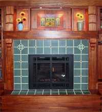 The Standout Tile Fireplace Surround...Amazing Arts And ...