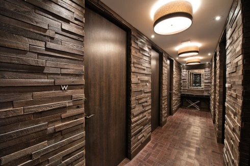 standout reclaimed wood tile designs