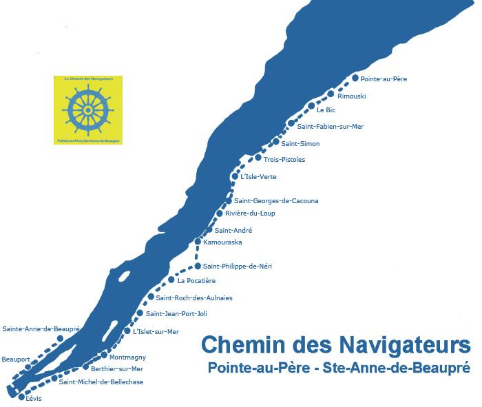 Carte du Chemin des navigateurs