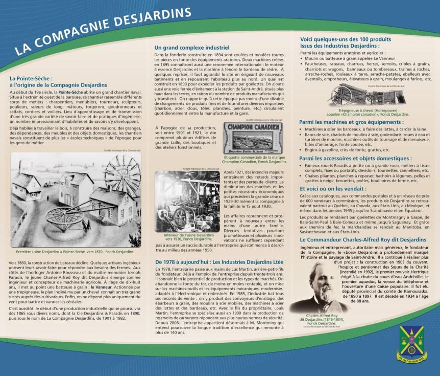Histoire de la compagnie Desjardins