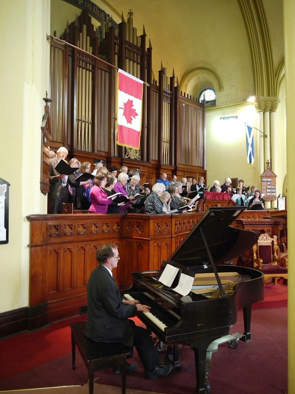 Combined Choir of St. Mark's Lutheran, Chalmer's, Princess Street and Sydenham Street United Churches, and St. Andrew's Presbyterian