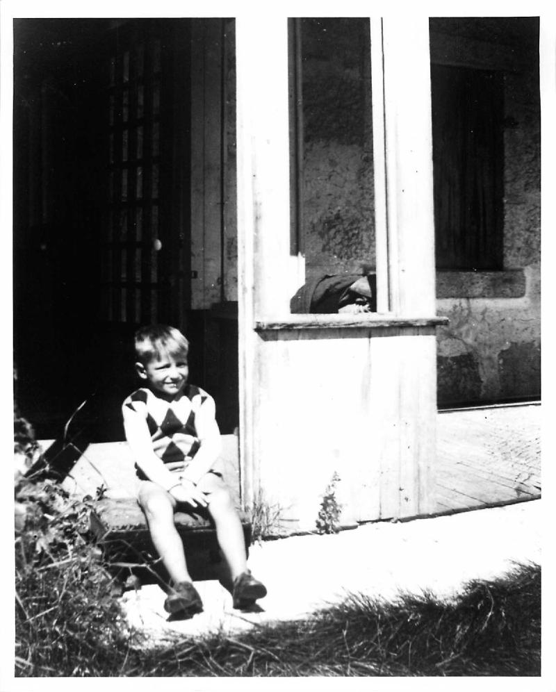 Boy in Doorway