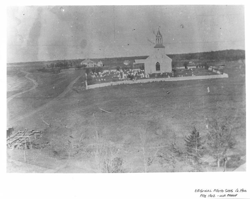 St. Andrews Church circa 1902.