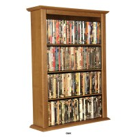 Venture Horizon Single Wall-Mounted Media Cabinet Oak 2421 ...