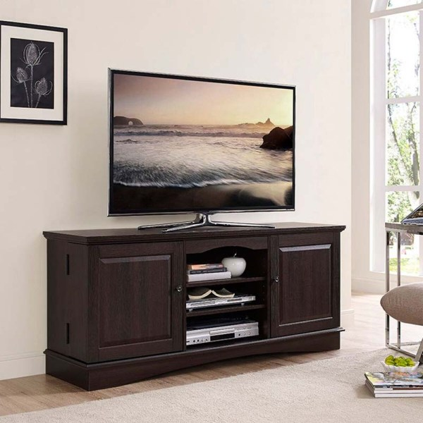 Walker Edison 60 Inch Console TV Stand Wood