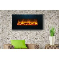 Touchstone Onyx 50 inch Electric Wall Mounted Fireplace ...