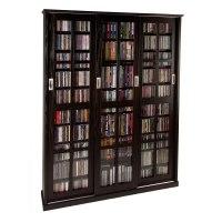 Leslie Dame Multimedia Storage Cabinet Espresso MS-1050ES